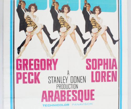 Arabesque One Sheet Movie Poster 66/216