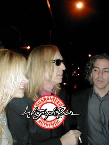 Tom Petty Heartbreakers Autographed Telecaster Guitar AFTAL UACC RD COA TS