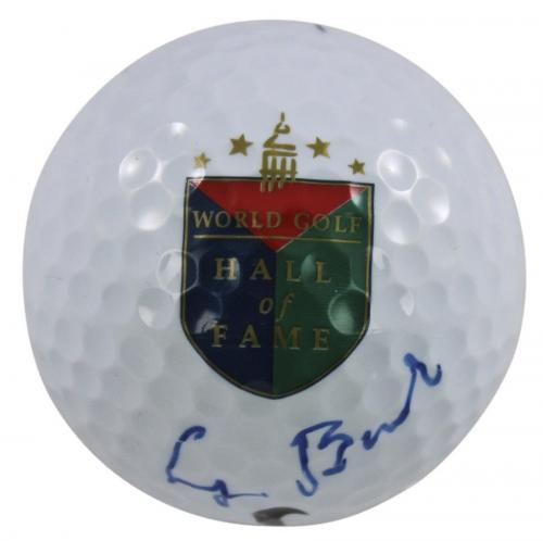 George H.W. Bush Signed Nike World Golf Hall Of Fame Logo Golf Ball JSA #Z34943