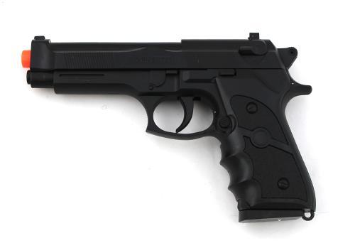 "Chandler Riggs ""Carl Grimes"" Signed Replica Black Beretta Pistol"