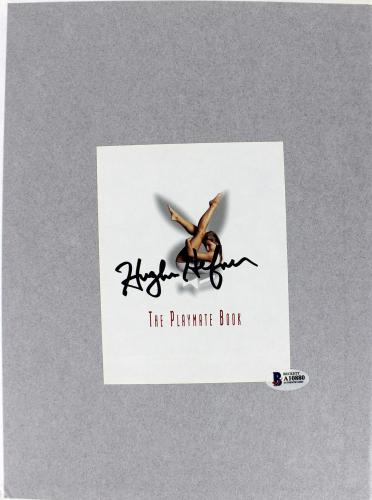 Hugh Hefner Playboy Signed The Playmate Book Hardcover Book BAS #A10880