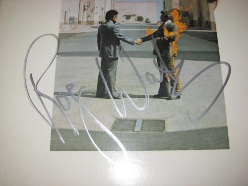 ROGER WATERS Signed WISH YOU WERE HERE Album w/ Beckett LOA