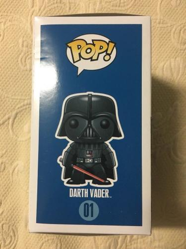 Dave Prowse Signed Autographed Darth Vader Funko Pop Star Wars BECKETT COA 10