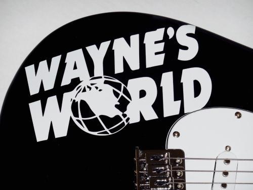 Dana Carvey Autographed Guitar (waynes World) - Jsa Coa!