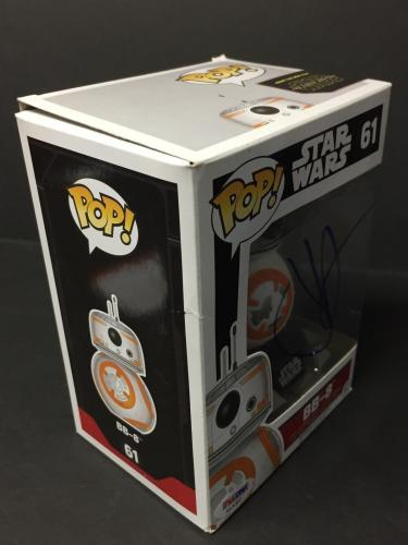 J.J. JJ Abrams Signed Star Wars BB-8 Funko Pop Figure PSA AA30462