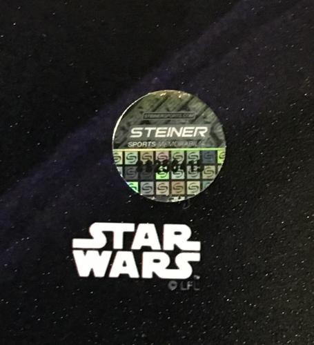 David Prowse signed 8x10 Star Wars photo ins Darth Vader framed Steiner COA