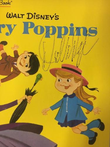 DICK VAN DYKE Signed Walt Disneys Mary Poppins A Little Golden Book PSA/DNA COA!