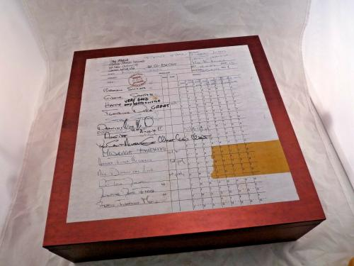 Mick Jagger Rolling Stones Signed Brussels Affair Book Box Set PSA Guaranteed