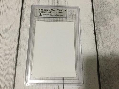 Jason Alexander Signed Autographed Auto Custom Card Beckett BAS COA Slabbed a