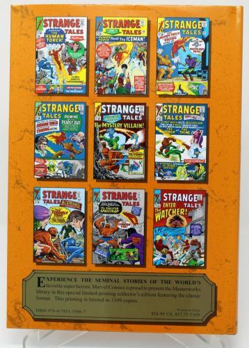 Marvel Masterworks Strange Tales 118-134 The Humban Torch Stan Lee