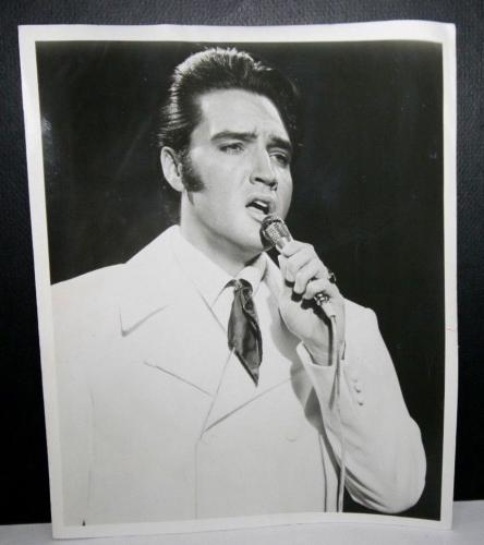 "1969 Elvis Presley, The King of Rock & Roll"" Original Type 1 Photo, 8"" x 10"