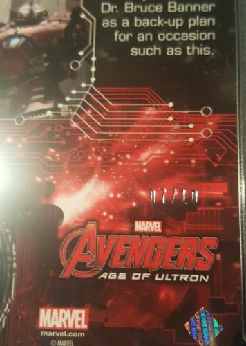 2015 Marvel Avengers UD Age of Ultron Iron Man Patterned Foil #7/10 PSA MINT 9