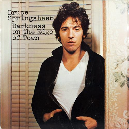 Bruce Springsteen Signed Darkness On The Edge Of Town Album Cover BAS #A85709
