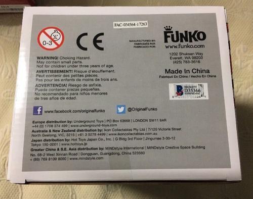 Scott Adsit Signed Funko Pop 6 Inch Baymax Big Hero 6 BECKETT COA 4