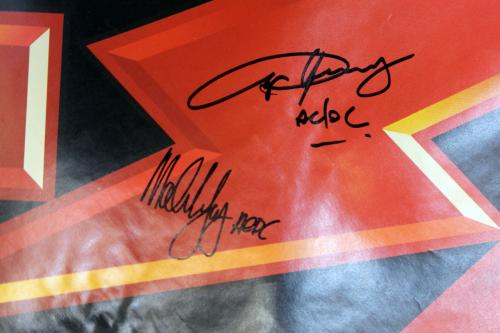 Angus Young & Malcom Young AC/DC Signed 48x72 Poster BAS #D43266