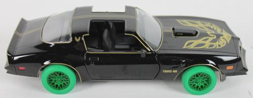 "Smokey and the Bandit Burt Reynolds ""Bandit"" Signed Die Cast 1977 Trans Am JSA"