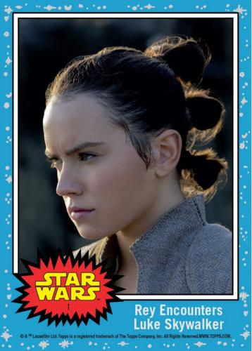 Star Wars Episode 8 Topps Now 2017 Countdown To The Last Jedi 20 Card Set #1-20