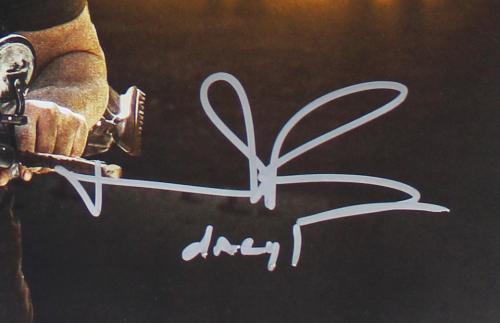 Norman Reedus & Jeffrey Dean Morgan Signed The Walking Dead Unframed Poster – All Out War