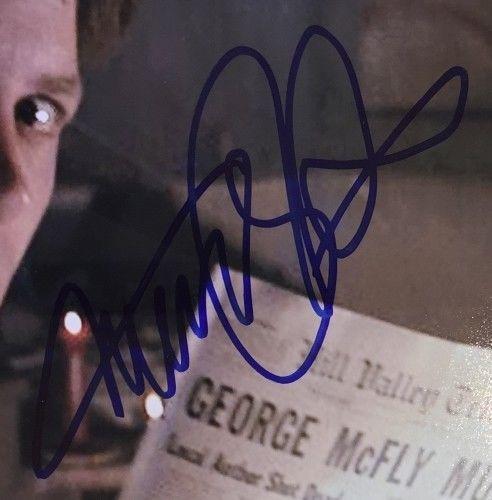 Michael J. Fox Signed Framed 11x14 Back To The Future Photo PSA U73139