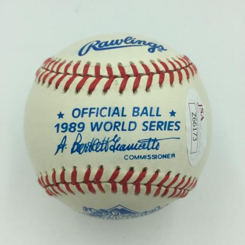 President George H.W. Bush Signed 1989 World Series Baseball With JSA COA
