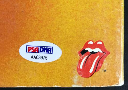 Rolling Stones Keith Richards Signed Goats Head Soup Album Psa/dna #aa03975