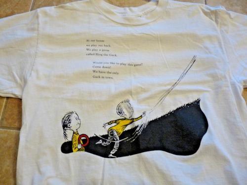 Def Leppard Rare Band Only DR SEUSS RING A GACK Shirt LG RARE