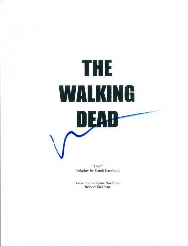 Norman Reedus Signed Autographed THE WALKING DEAD Pilot Episode Script COA AB