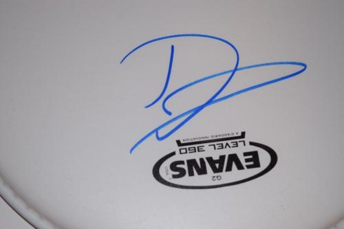 """Dave Grohl Signed Autographed 10"""" Drumhead NIRVANA FOO FIGHTERS Beckett BAS COA"""