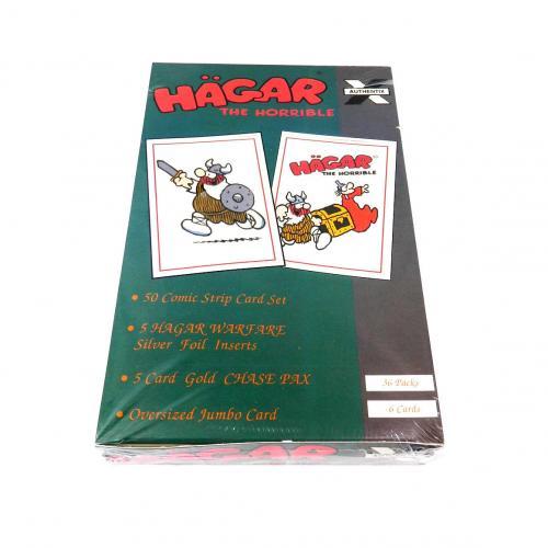 1995 Authentix Hagar The Horrible Trading Card Case (10 Box)
