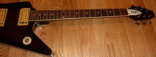 Psa/dna Bb King Autographed-signed Classic Electric Cort Guitar Z01438