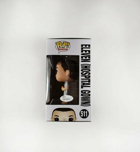 Millie Bobby Brown Stranger Things 11 Autographed Signed Funko Pop Doll JSA COA