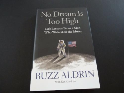 Buzz Aldrin No Dream Too High Signed Autographed Book BAS Certified Astronaut