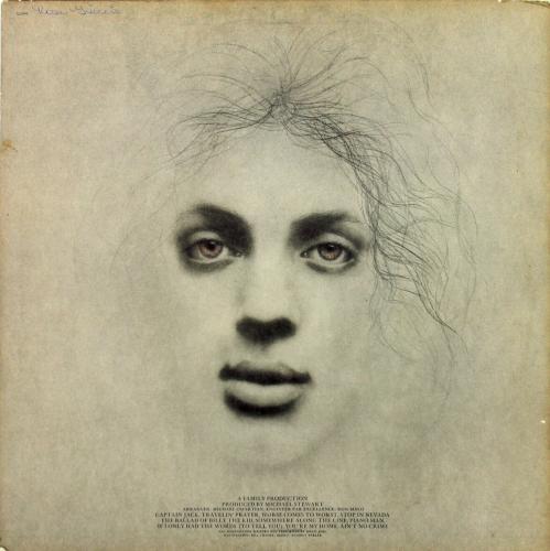 Billy Joel Signed Piano Man Album Cover W/ Vinyl BAS #D17685
