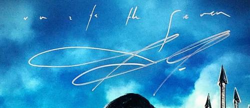 "JASON MOMOA Signed AQUAMAN ""Unite The Seven"" 12x18 Photo BECKETT BAS #D36919"