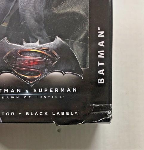 Ben Affleck Signed Batman V Superman Barbie Collector Black Label Bas Coa Auto