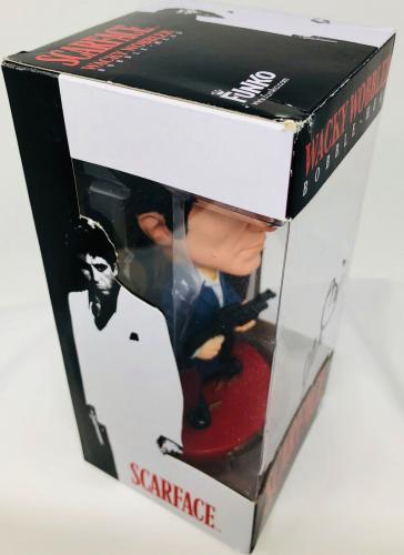 Al Pacino Signed Tony Montana Funko Wacky Wobbler Scarface - PSA DNA Witnes Auto