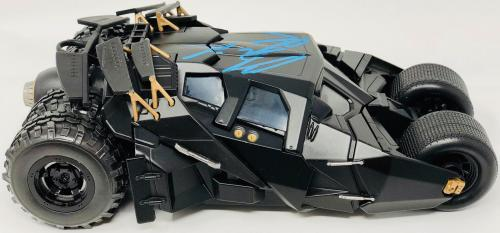 Christian Bale Signed Autographed Batmobile 1:24 The Dark Knight Batman PSA DNA