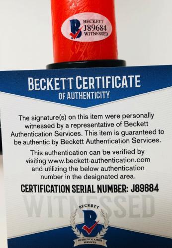 Adam Driver Autographed Kylo Ren Light Saber Star Wars - Beckett BAS Witnessed