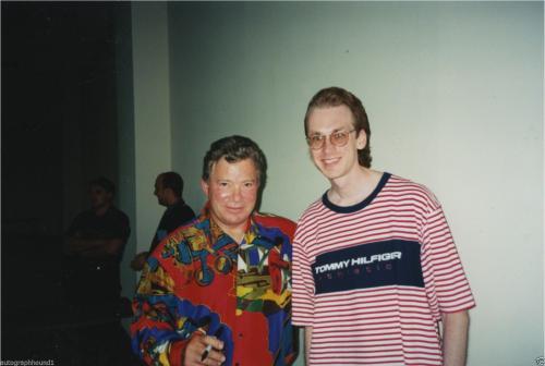 William Shatner & Leonard Nimoy Star Trek Signed  Psa/dna Photo Z99458