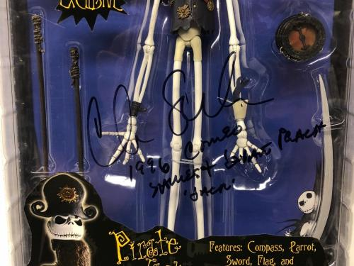 Chris Sarandon Signed Nightmare Before Christmas Jack Action Figure PSA
