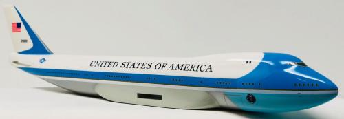 Harrison Ford Air Force One Autographed Model Plane BAS Beckett Witnessed