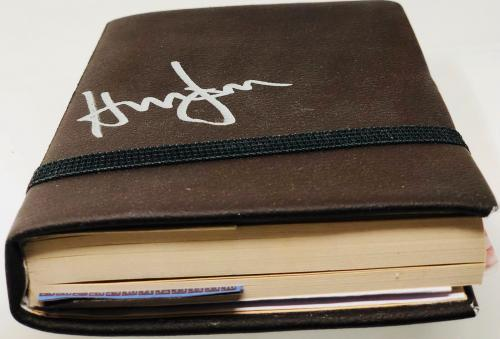 Harrison Ford Indiana Jones Autographed Holy Grail Diary BAS Beckett Witnessed
