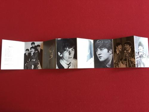 """1964, Beatles, """"Dell Wallet Photo Book"""" (Fold Out) Scarce"""