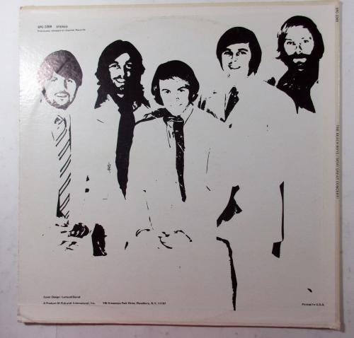 Al Jardine Signed Record Album The Beach Boys Wow! Great Concert! AUTO DF014009