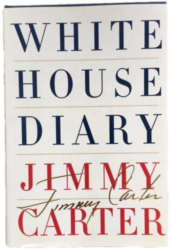 Jimmy Carter US President Signed White House Diary Book BAS