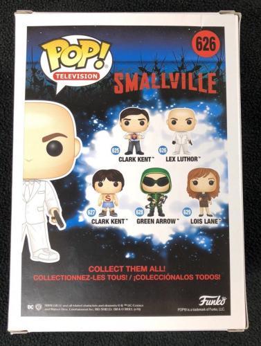 Michael Rosenbaum Signed Smallvile Lex Luthor Funko Pop Figure W/ Protector