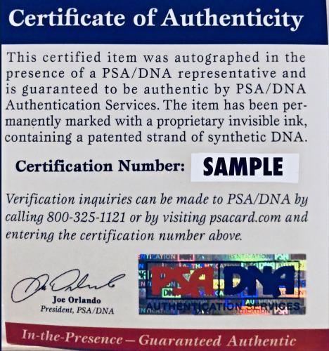 Dave Prowse Signed Star Wars Darth Vader 11x14 Photo - PSA/DNA 7
