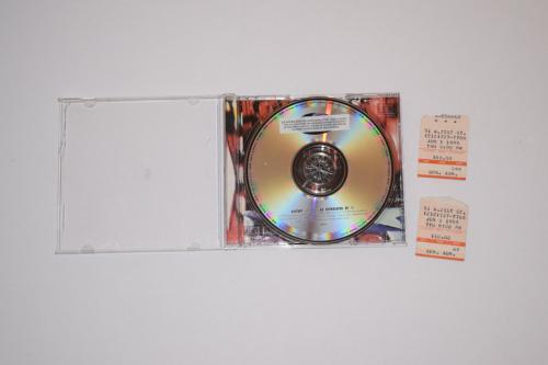 RADIOHEAD Signed Autographed THE BENDS CD Booklet Thom Yorke + 3 JSA LOA COA