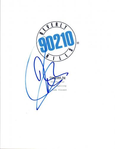 Jason Priestley Signed Autographed BEVERLY HILLS 90210 Pilot Episode Script COA