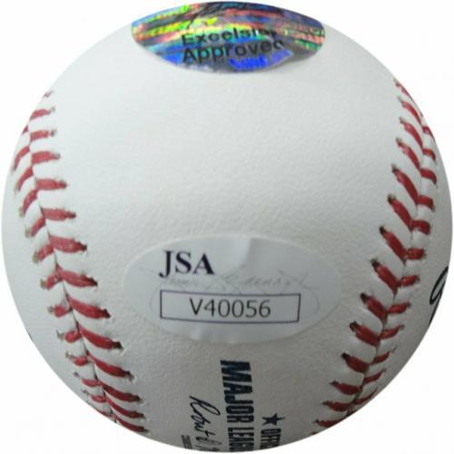 Stan Lee Signed Autographed MLB Official Baseball Humberto Ramos JSA V40056